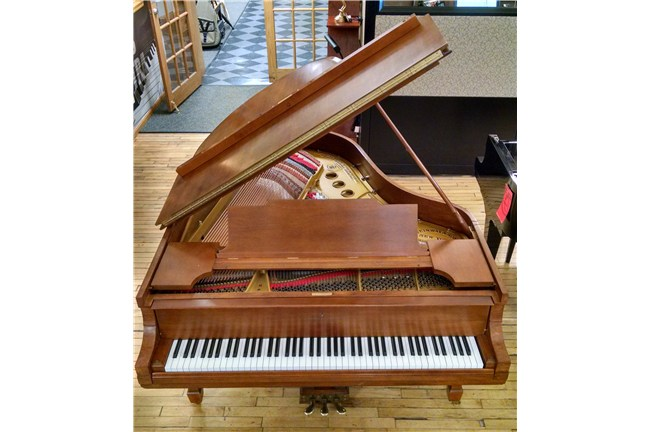 used steinway m grand piano front