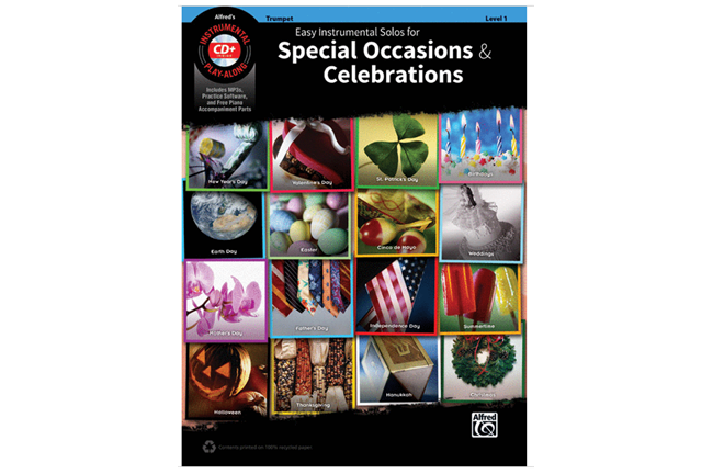 Easy Instrumental Solos for Special Occasions & Celebrations (Trumpet)
