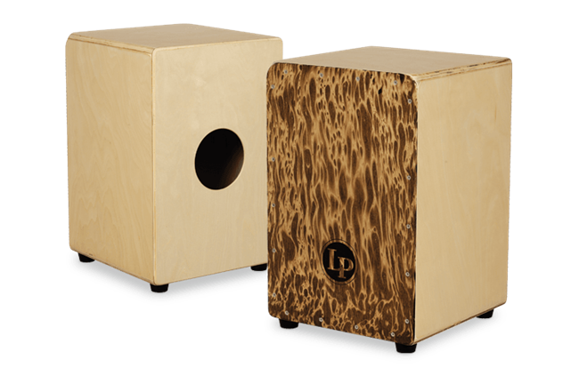 Cajon front and back