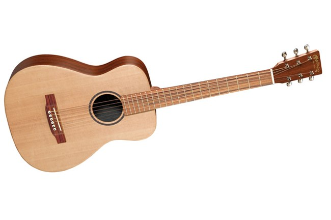 Martin LX1 Acoustic Guitar - Tilted