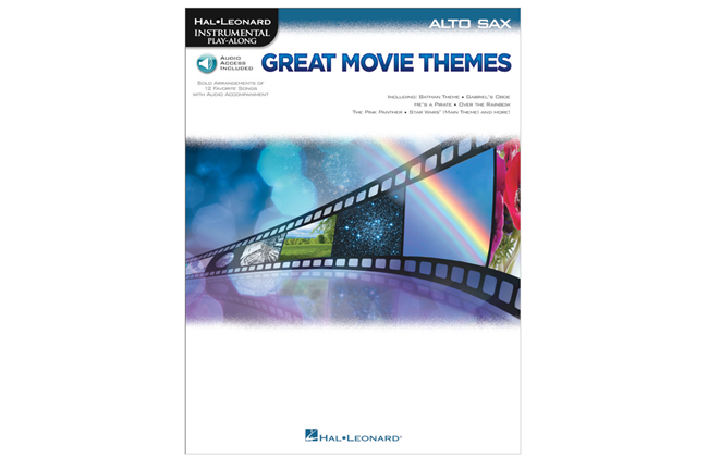 Great Movie Themes (Alto Sax)