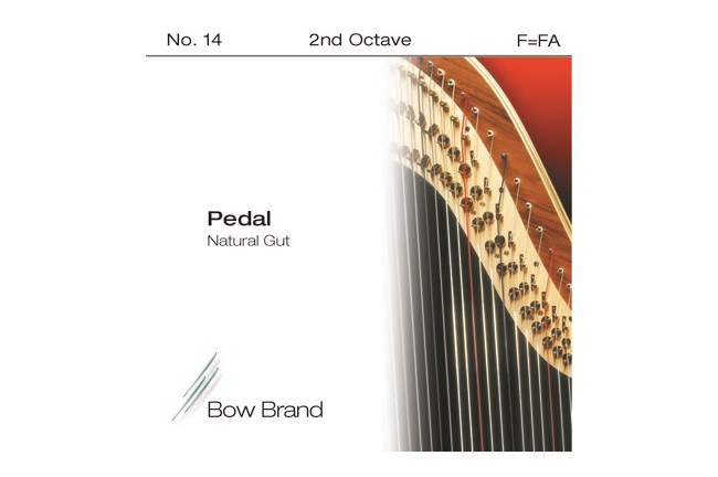 Bow 2nd Octave F (Black) Harp String