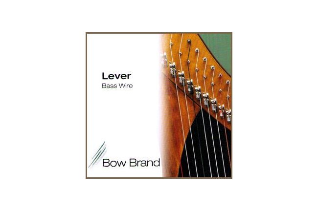 Bow Bass Wire 5th Octave F (Black) Harp String
