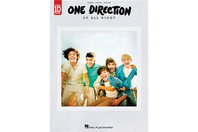 One Direction - Up All Night Piano / Vocal / Guitar Songbook
