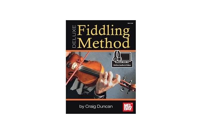 Fiddling Method Deluxe w/online audio