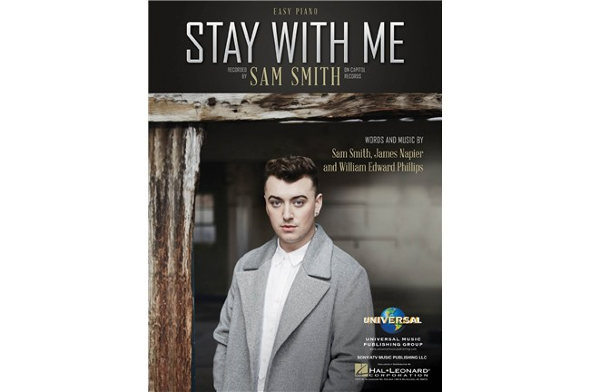 Sam Smith - Stay With Me - Easy Piano Sheet Music