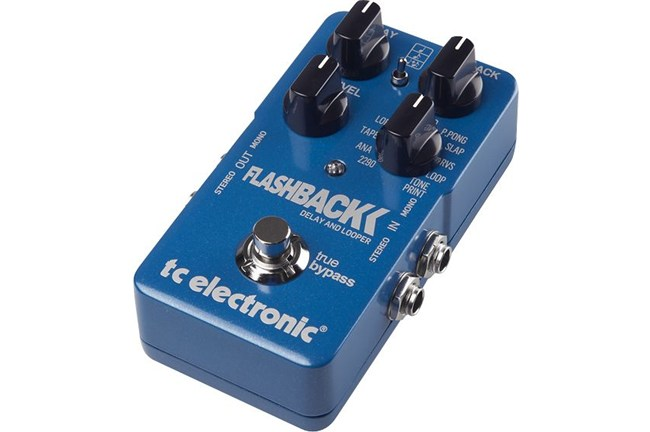 TC Electronic Flashback Digital Delay Effects Pedal heid music