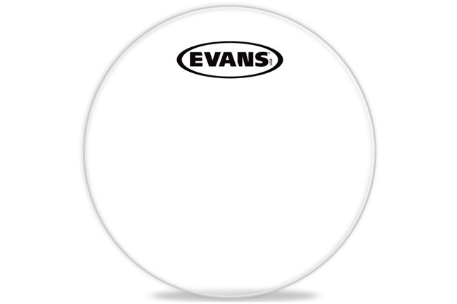 "Evans 10"" Corps Clear Marching Tenor Head"