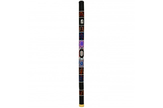 "Didgeridoo, Toca 47"" Bamboo Hand Painted Turtle"