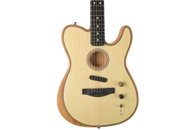 Fender Acoustasonic Telecaster Acoustic-Electric Guitar - Natural