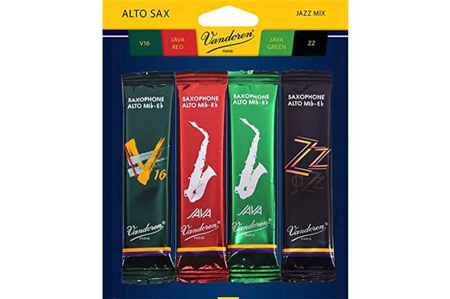 Vandoren Alto Saxophone Jazz Reed Mix Pack