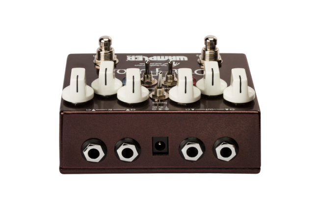 wampler tom quayle dual fusion overdrive pedal heid music. Black Bedroom Furniture Sets. Home Design Ideas