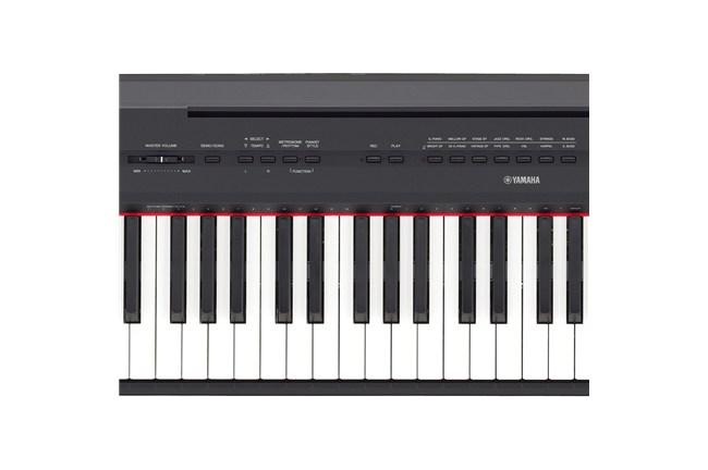 yamaha p 115 digital piano black heid music. Black Bedroom Furniture Sets. Home Design Ideas