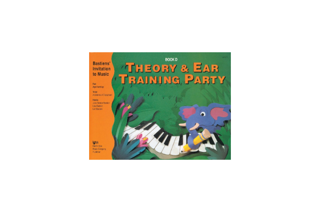 Theory & Ear Training Party - Book D