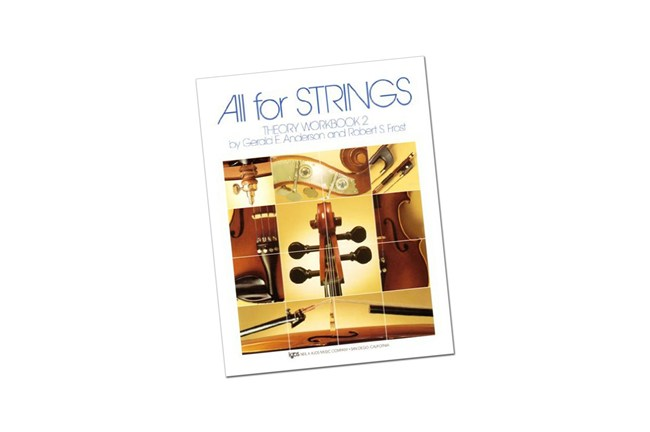 all for strings theory bass workbook 2