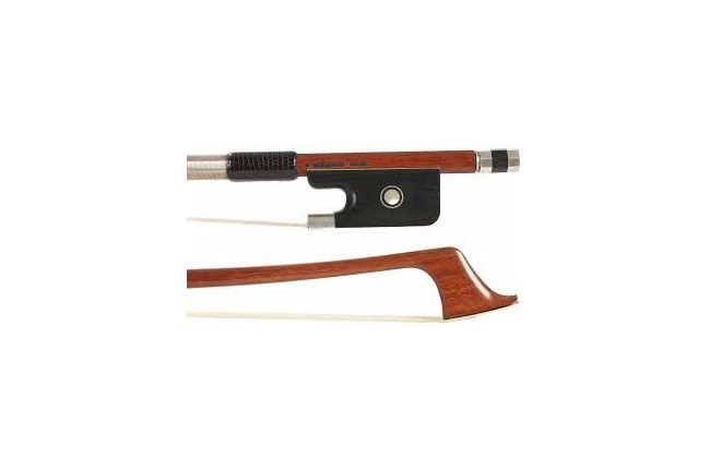 silver cello bow