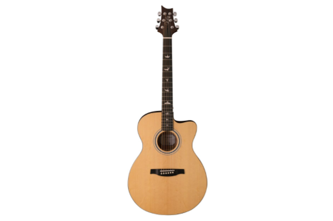 prs se angelus ax20e acoustic electric guitar natural heid music. Black Bedroom Furniture Sets. Home Design Ideas