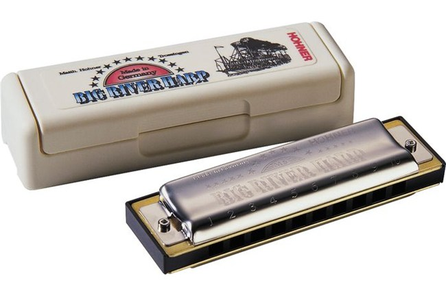 Hohner Big River Harmonica in C