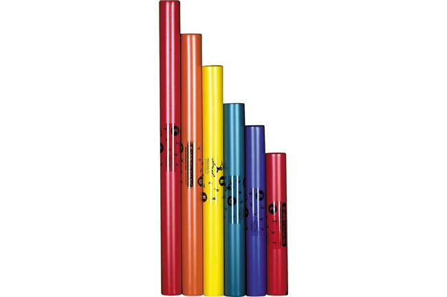 Boomwhackers C Major 6 Note Pentatonic Scale Set - Tuned Percussion Tubes
