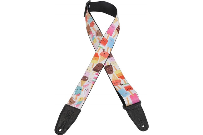 Cartoon Treats Guitar Strap
