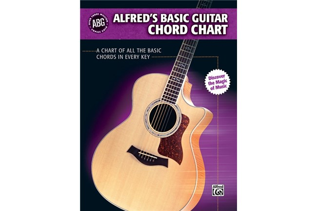 Alfred's Basic Guitar Chord Chart, Cover