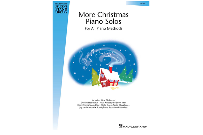 More Christmas Piano Solos