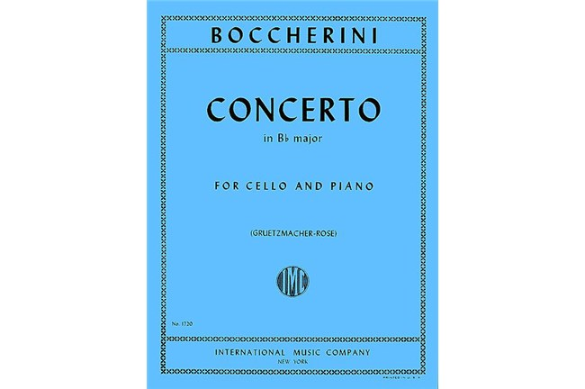 2311S05, Concerto in Bb Major Cello, B