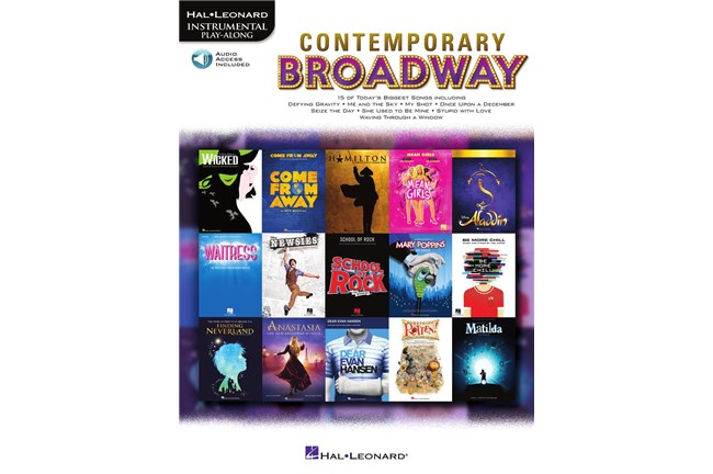 Contemporary Broadway for Clarinet