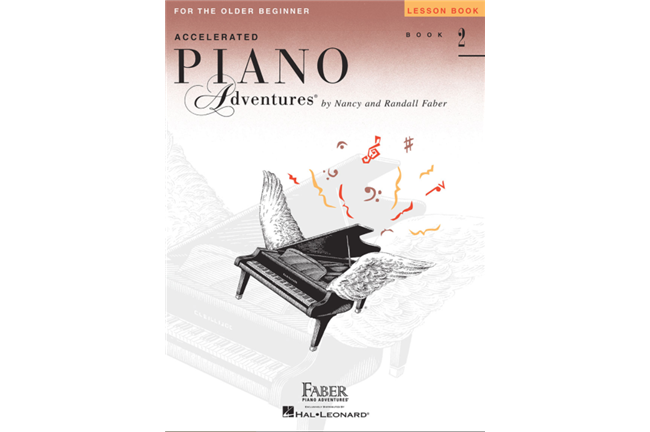 Piano Adventures for Older Beginner Book 2