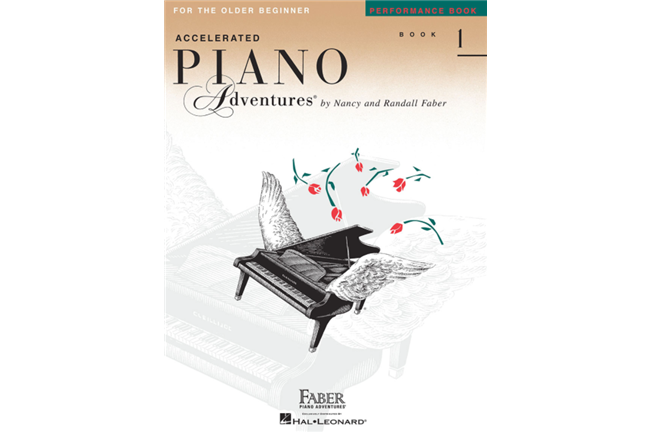 Piano Adventures for Older Beginner Performance Book 1