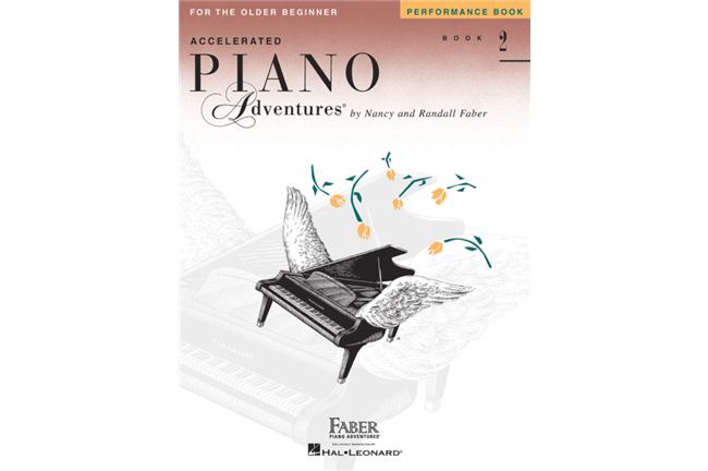 Piano Adventures for Older Beginner Performance Book 2