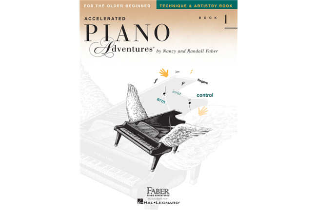 Piano Adventures for Older Beginner Technique book 1