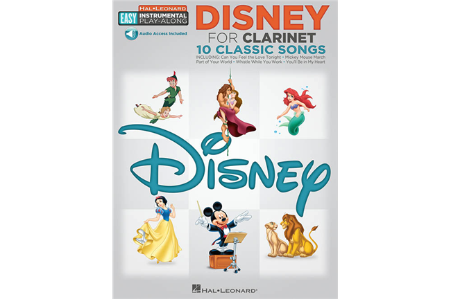 Disney Easy Instrument Play Along for Clarinet