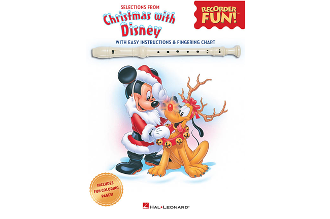 Christmas with Disney for Recorder
