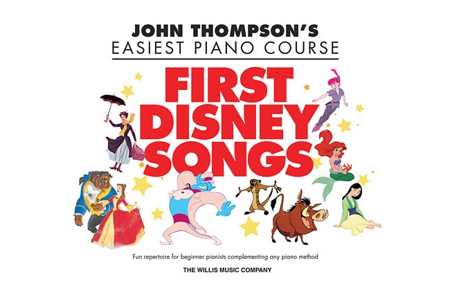 John Thompson's First Disney Songs