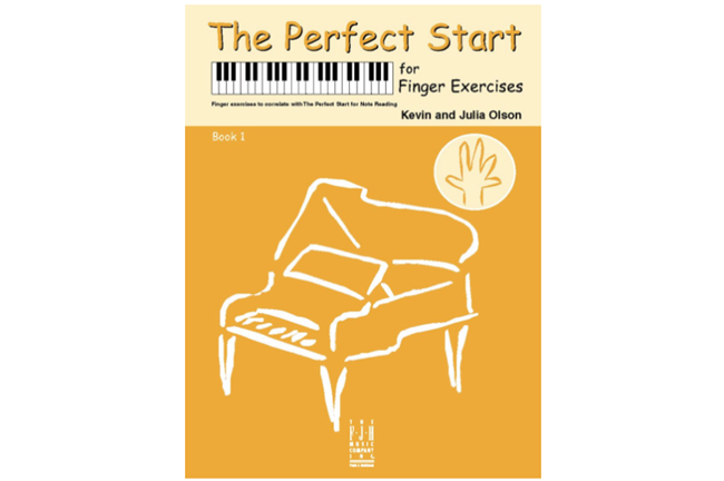 Perfect Start for Finger Exercises, Book 1