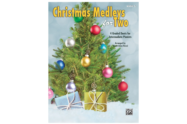 Christmas Medleys for Two Book 3