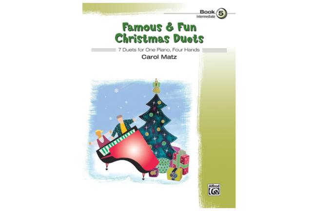 Famous & Fun Christmas Duets Book 5