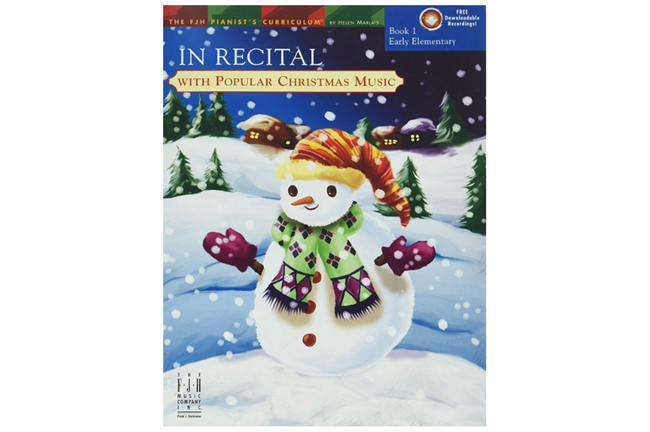 In Recital with Popular Christmas Music Book 1