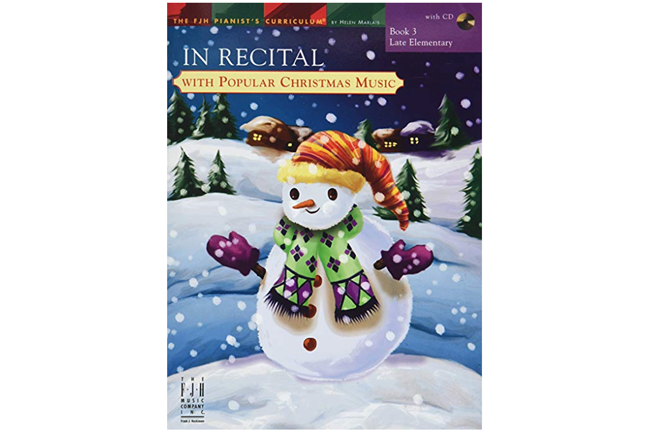 In Recital with Popular Christmas Music Book 3