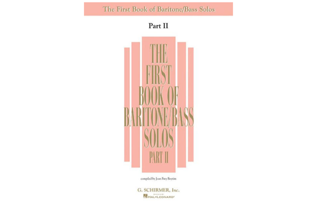 First Book of Baritone/Bass Solos - Part II