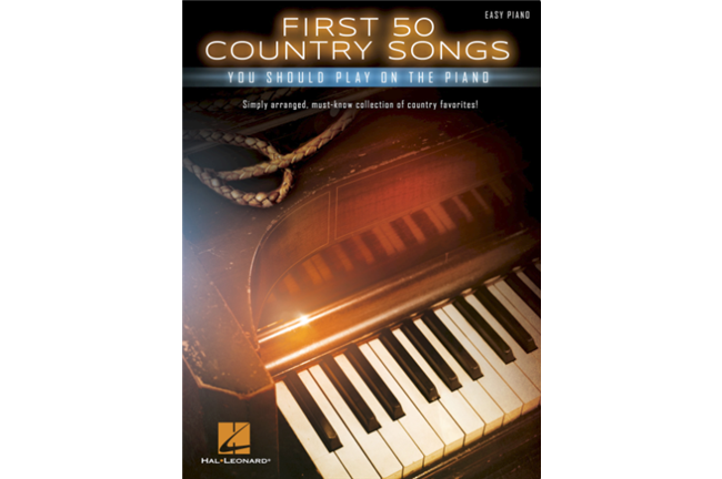 First 50 Country Songs You Should Play on the Piano