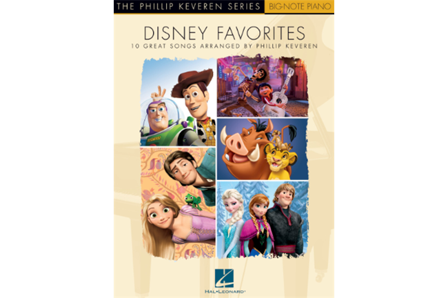 Disney Favorites - Big Note Piano