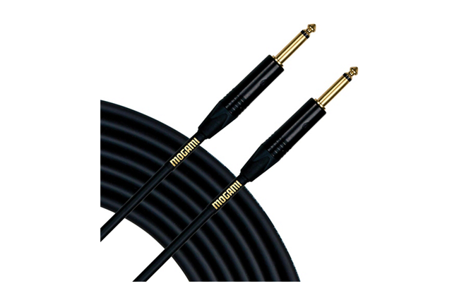 Mogami Gold Series Instrument Cable 25 ft.