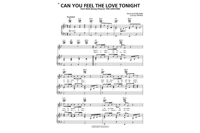 The Love Songs of Elton John - PVG | Heid Music