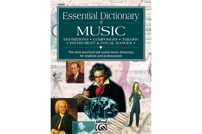 Essential dictionary of music