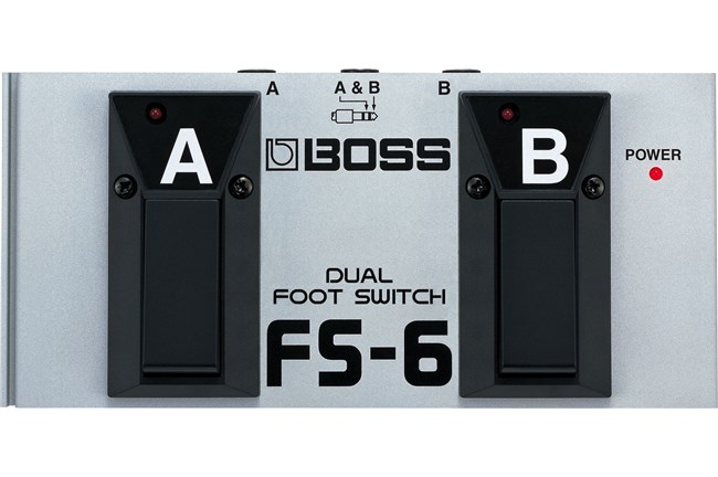 Black and Silver FS-6 Foot Switch
