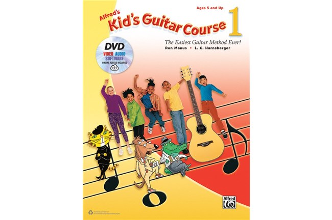 Alfred's Kid's Guitar Course 1 w/ DVD and Audio