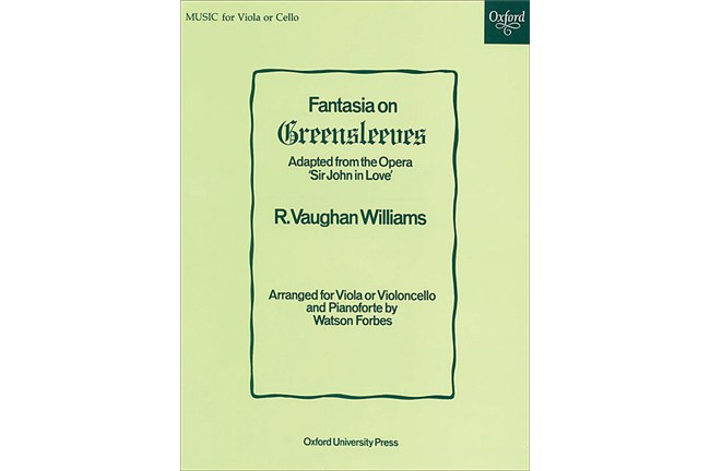 2211A2, Fantasia on Greensleeves Vla/Pno