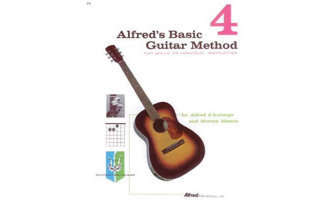 Alfred's Basic Guitar Method 4, Cover